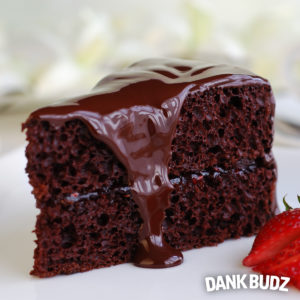 Cannabis Chocolate Stout Cake