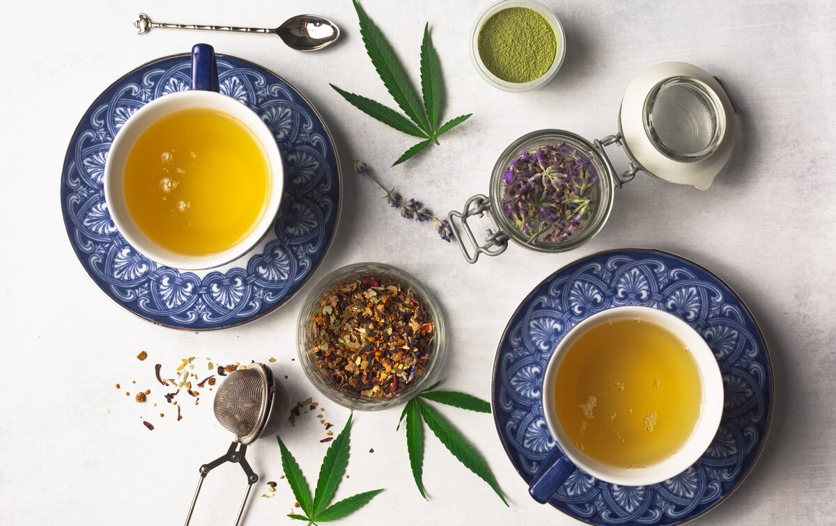 Chai Tea with Kief