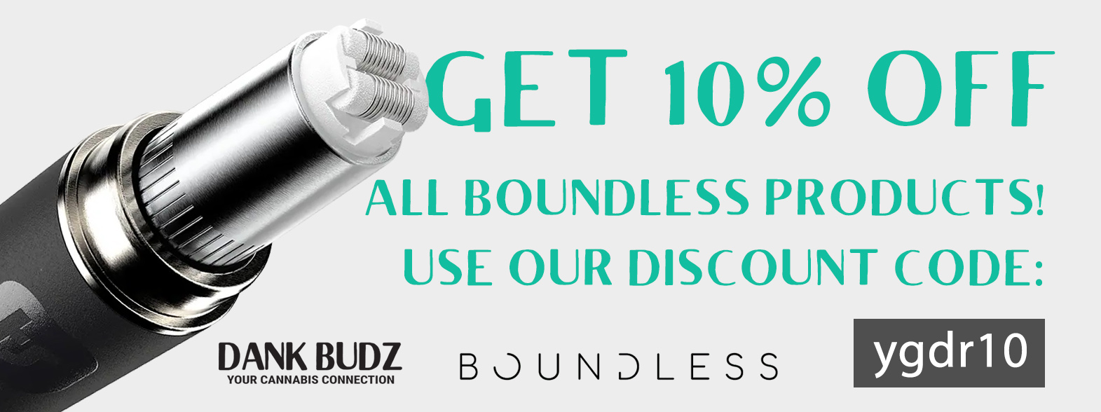 10% OFF Boundless